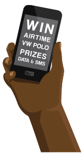 Win airtime or airtime vouchers