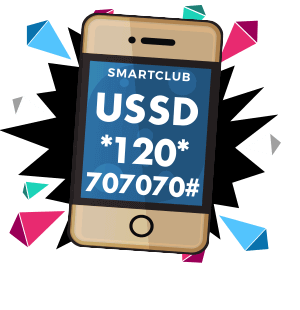 Connect to SMARTCLUB with USSD.